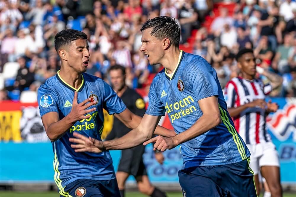 Feyenoord boekt tegen Willem II eerste competitiezege van seizoen; image source: Pro Shots