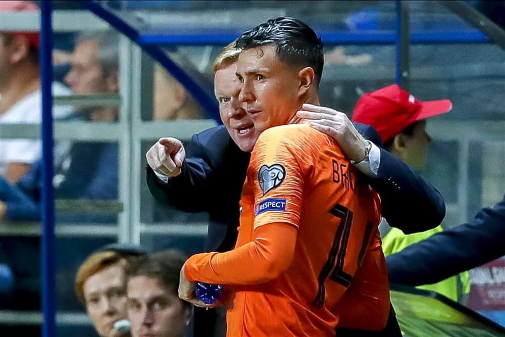 Oranje met invaller Steven Berghuis te sterk voor Estland; image source: Pro Shots