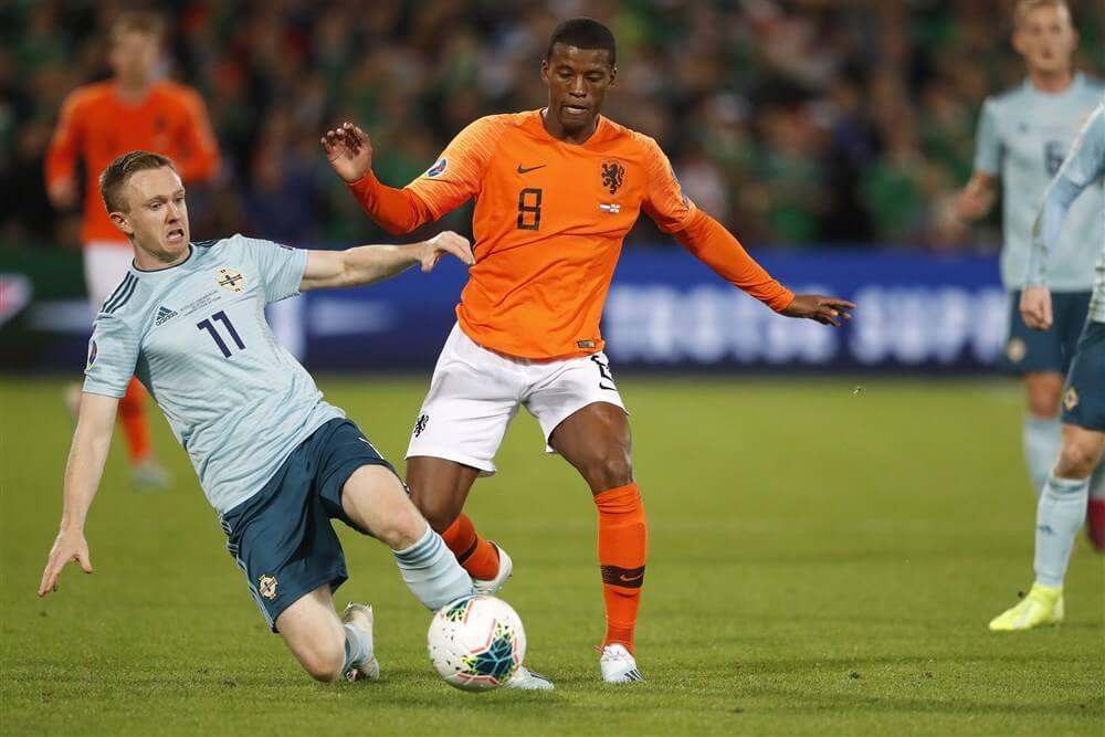 Nederland in De Kuip zonder Feyenoorders voorbij Noord-Ierland; image source: Pro Shots
