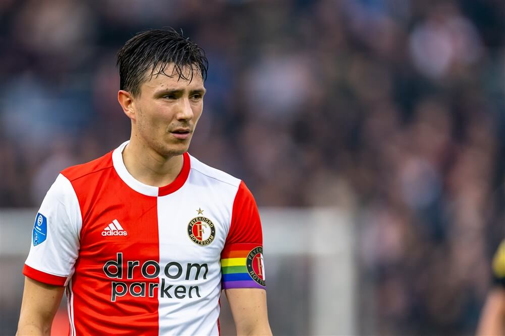 Steven Berghuis nieuwe aanvoerder van Feyenoord; image source: Pro Shots