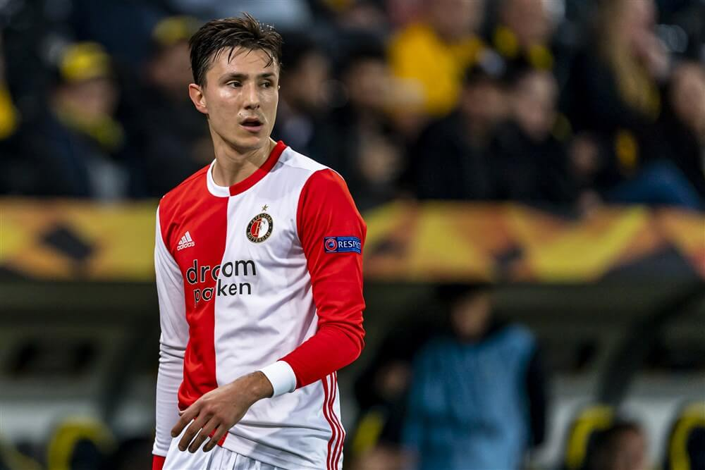 """Steven Berghuis: """"Je moet leveren, helemaal bij een club als Feyenoord""""; image source: Pro Shots"""