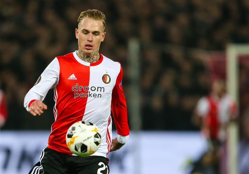 """""""Feyenoord richting Marbella met gebleseerden Karsdorp, Haps en Van Beek""""; image source: Pro Shots"""