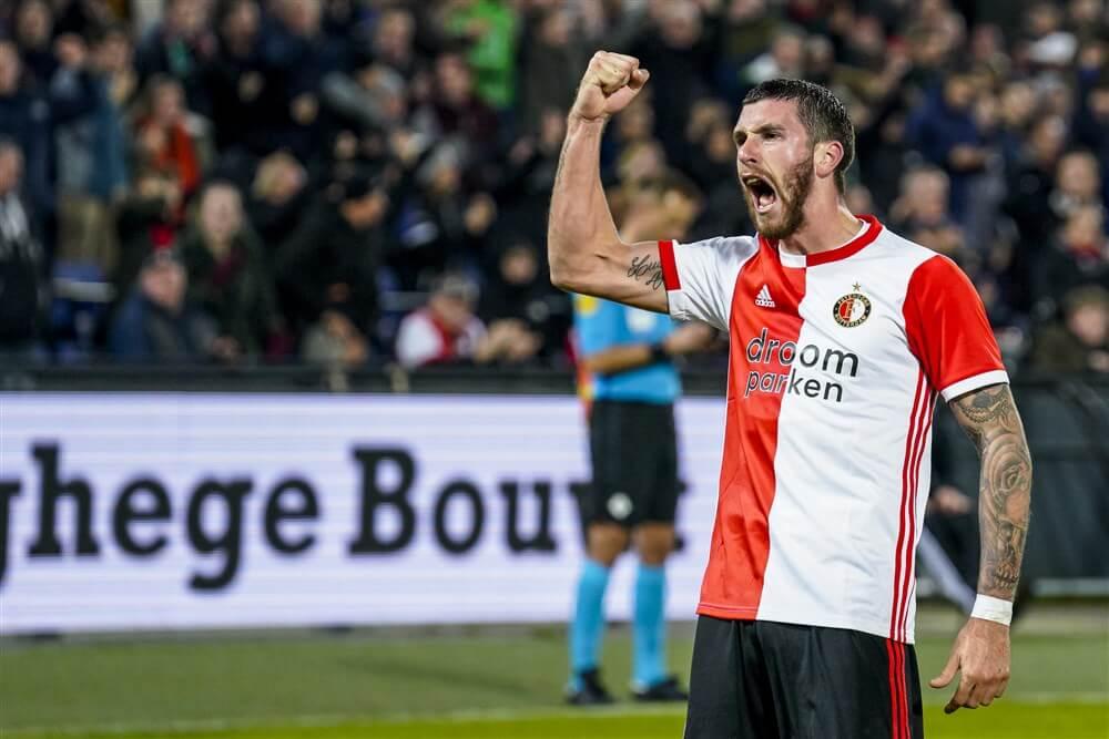 Marcos Senesi kopt Feyenoord in slotfase voorbij RKC; image source: Pro Shots