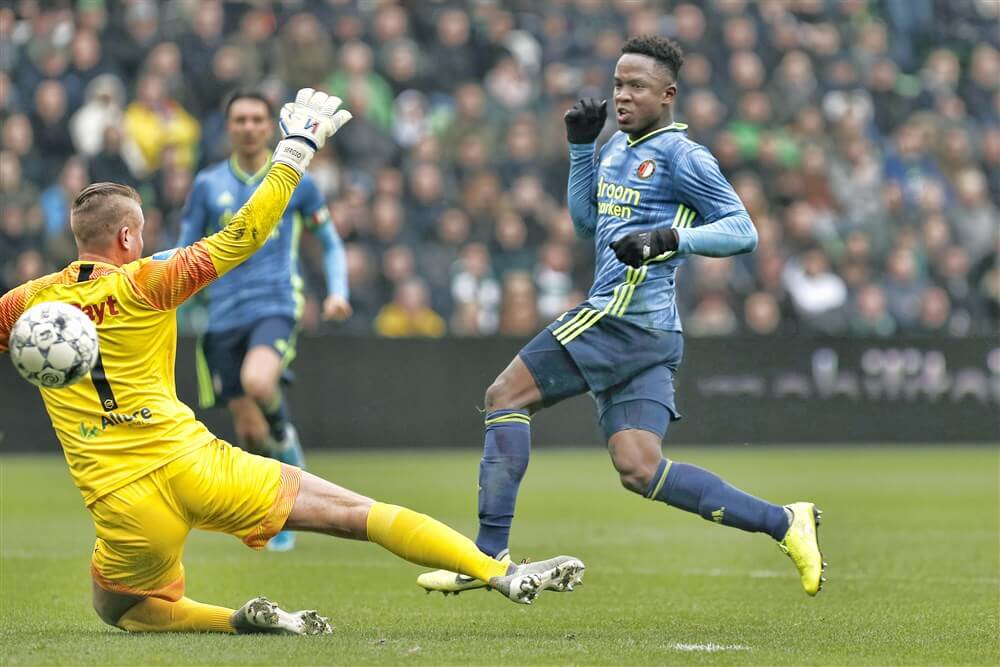 Feyenoord gelijk in Groningen na matige wedstrijd; image source: Pro Shots
