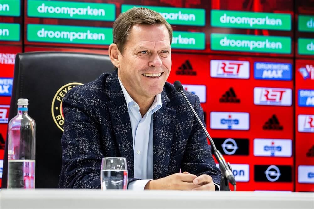 """Frank Arnesen: """"We zijn er heilig van overtuigd dat er straks een prima Feyenoord staat""""; image source: Pro Shots"""