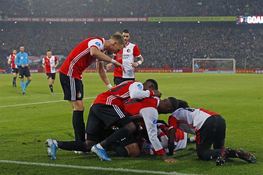 Feyenoord onder aanvoering van Steven Berghuis veel te sterk voor PSV; image source: Pro Shots