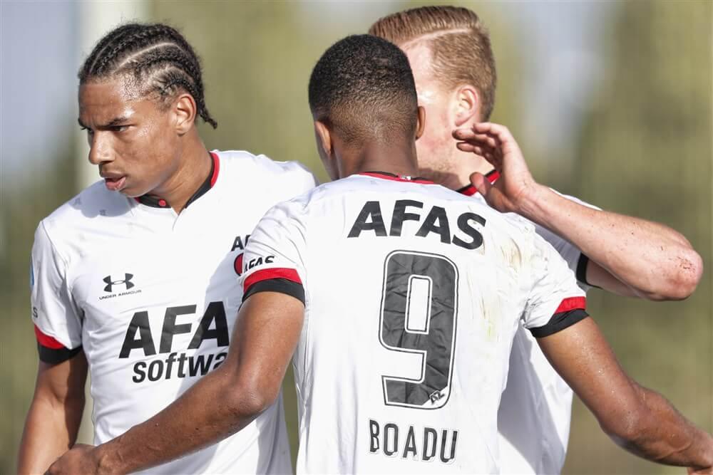 """Geruchten over komst AZ-drietal bij Feyenoord ontkracht: """"Goede 1 april grap""""; image source: Pro Shots"""