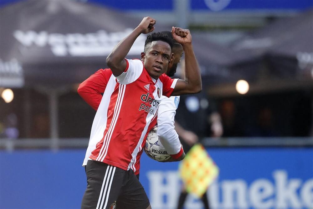 """""""Feyenoord wil contract Luis Sinisterra nogmaals verlengen""""; image source: Pro Shots"""