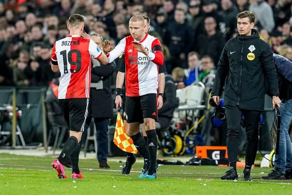 """Sven van Beek: """"Voor mij persoonlijk was het mooi om eindelijk weer wat minuten te mogen maken""""; image source: Pro Shots"""
