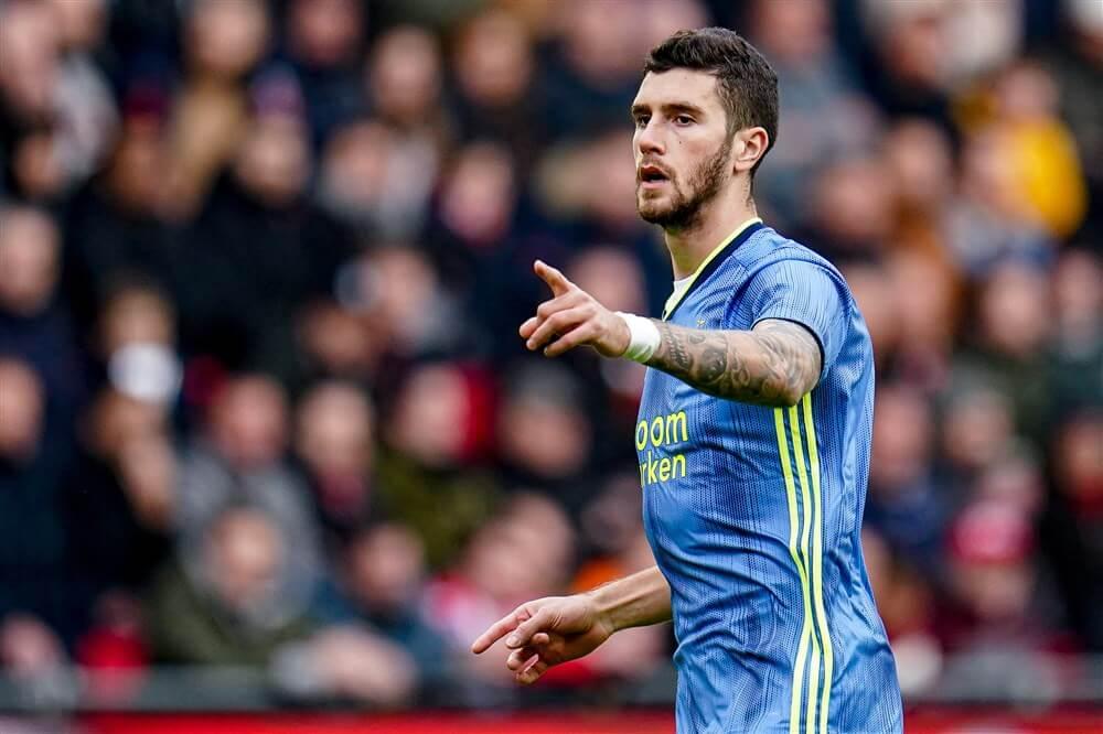 """""""Leeds United zet in op komst van Marcos Senesi""""; image source: Pro Shots"""