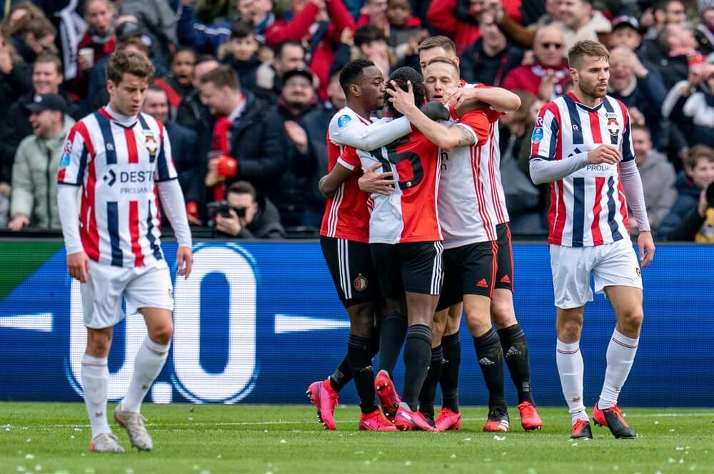 Feyenoord bindt ook Willem II aan de zegekar na probleemloze wedstrijd; image source: Pro Shots