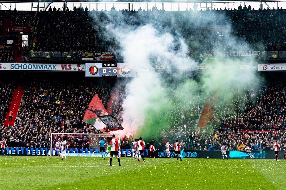 Feyenoord biedt compensatie aan voor gemiste wedstrijden van afgelopen seizoen; image source: Pro Shots