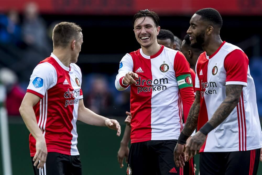 """""""Alle clubs in Eredivisie tenminste één keer op zaterdagmiddag een thuiswedstrijd""""; image source: Pro Shots"""