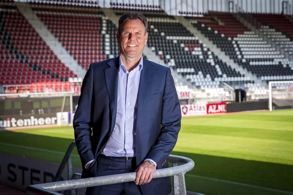 """""""Robert Eenhoorn vanwege stadionproblemen AZ voorlopig niet naar Feyenoord""""; image source: Pro Shots"""