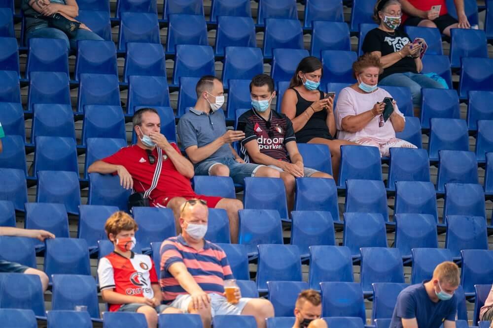 """""""Geen mondkapjesplicht meer bij thuiswedstrijden Feyenoord""""; image source: Pro Shots"""