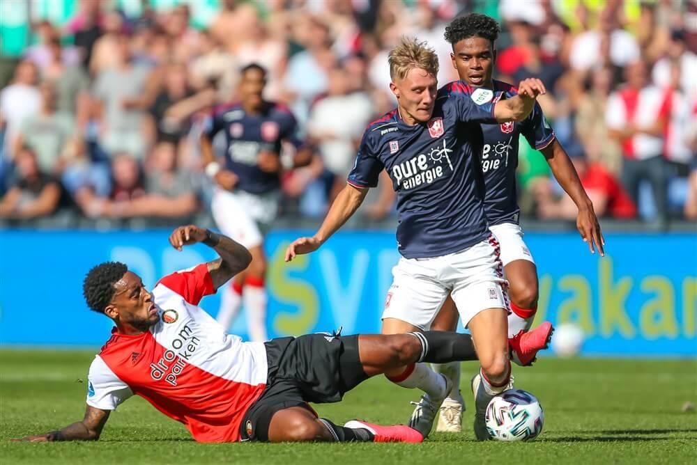 Matig Feyenoord komt niet verder dan gelijkspel tegen FC Twente; image source: Pro Shots
