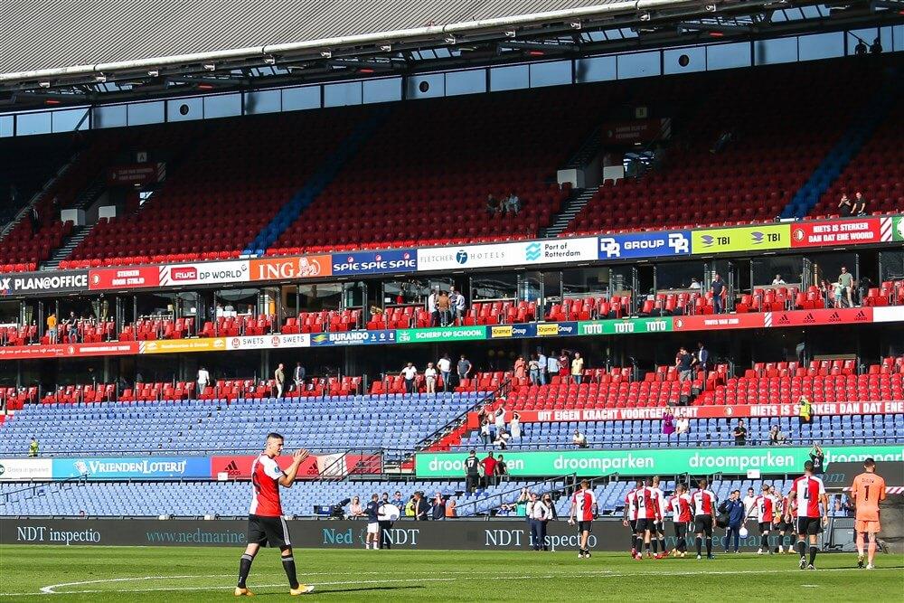 """Reactie Feyenoord: """"We zullen komende wedstrijd nog meer extra teams inzetten""""; image source: Pro Shots"""