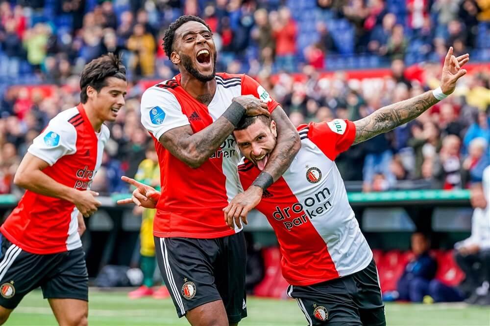 Feyenoord bezorgt Advocaat doelpuntrijk verjaardagscadeau; image source: Pro Shots