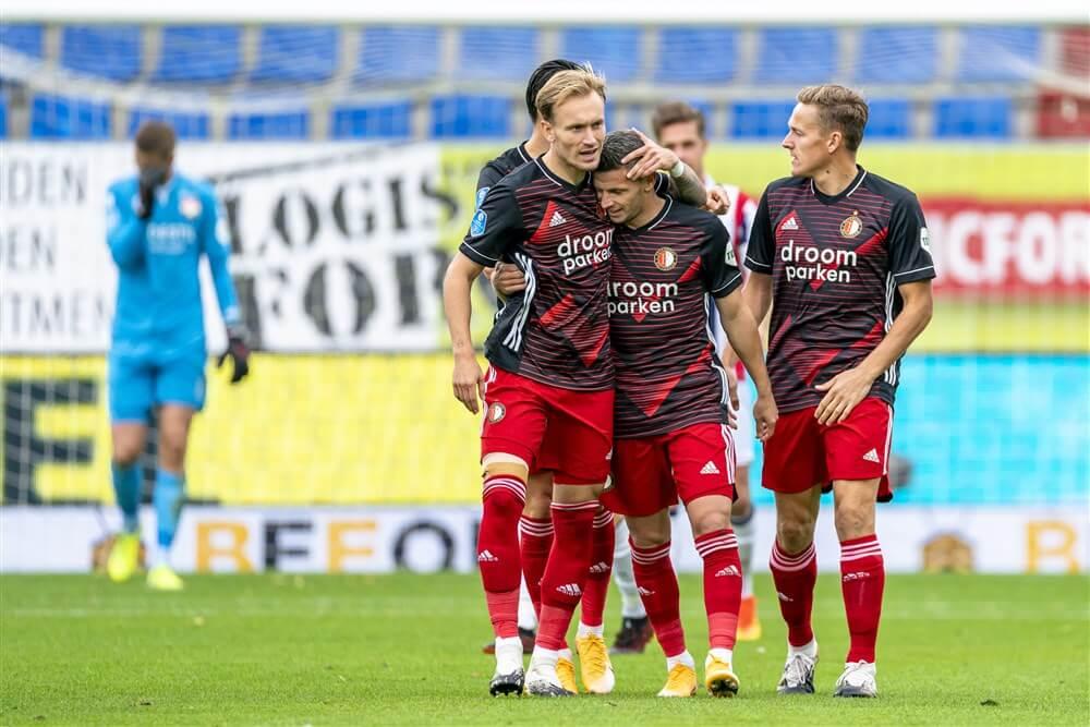Sterke tweede helft brengt Feyenoord de overwinning in Tilburg; image source: Pro Shots