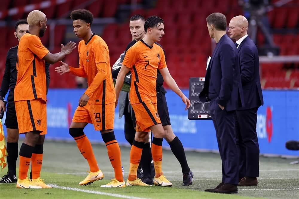 Steven Berghuis verliest met Oranje van Mexico; image source: Pro Shots