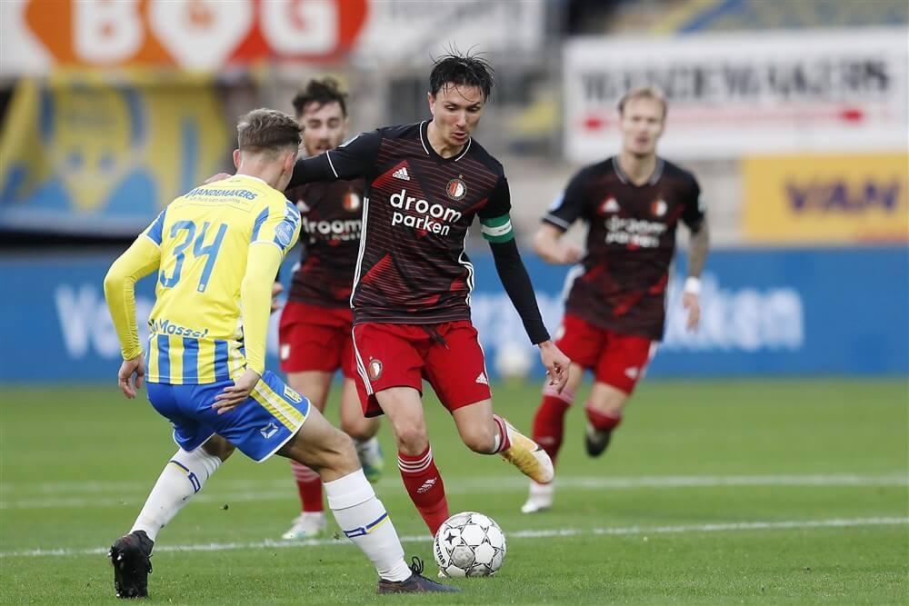 Zwak Feyenoord speelt ook gelijk op bezoek bij RKC; image source: Pro Shots