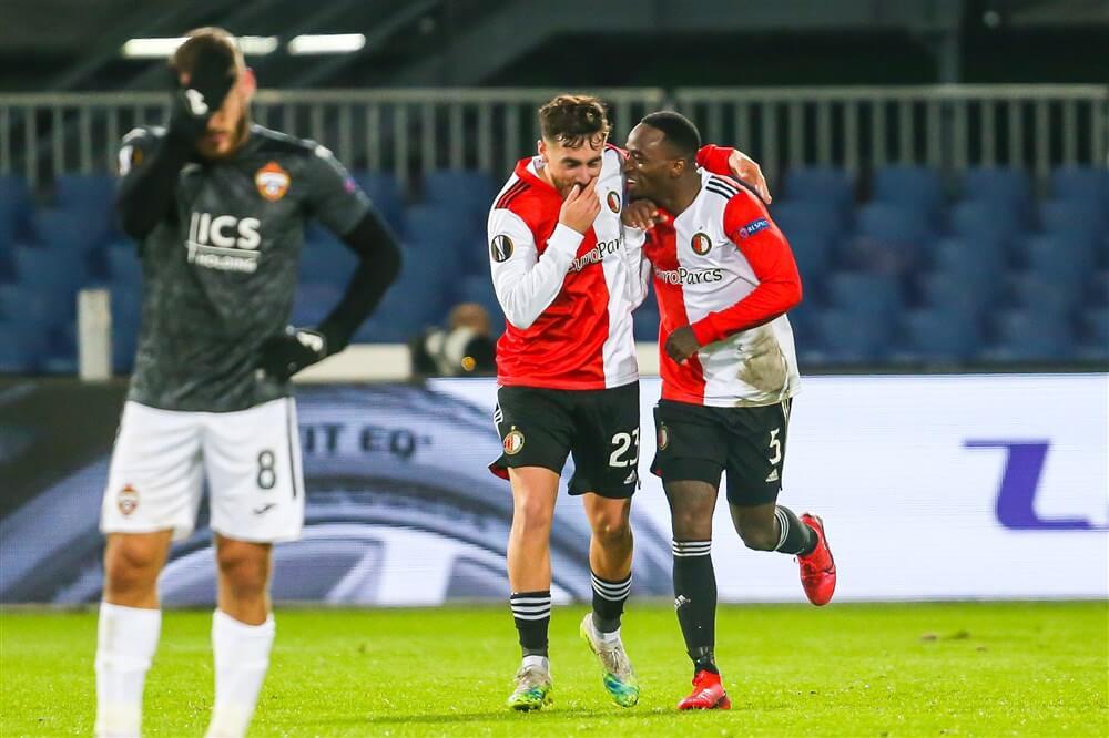 Feyenoord dankzij sterke tweede helft voorbij CSKA Moskou; image source: Pro Shots
