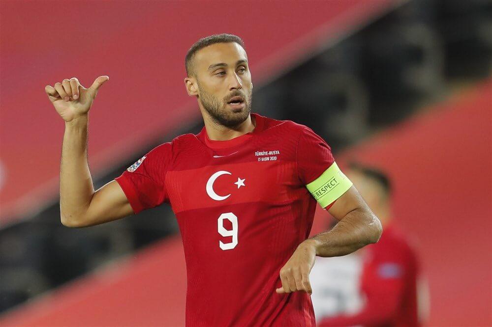 """Turks international Cenk Tosun in beeld bij Feyenoord""; image source: Pro Shots"