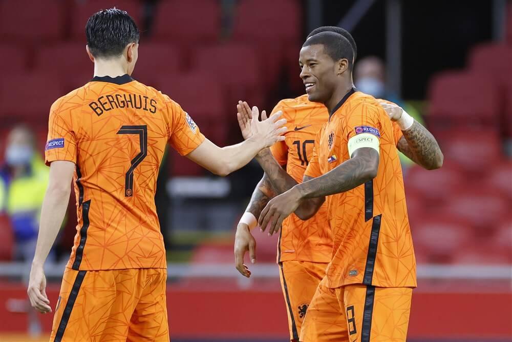 Steven Berghuis belangrijk bij zege van Nederlands elftal; image source: Pro Shots