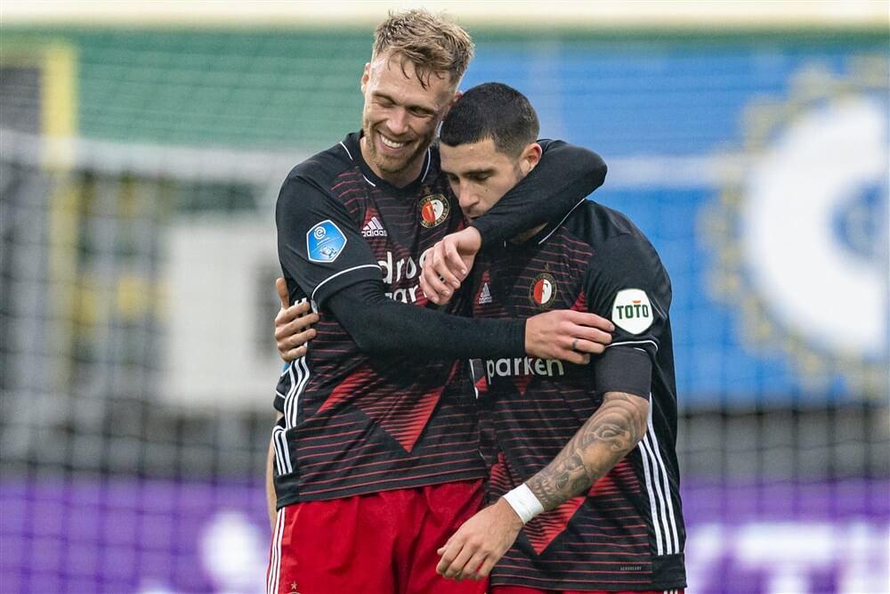 Feyenoord met 10 man te sterk voor Fortuna, wereldgoal van Marcos Senesi; image source: Pro Shots