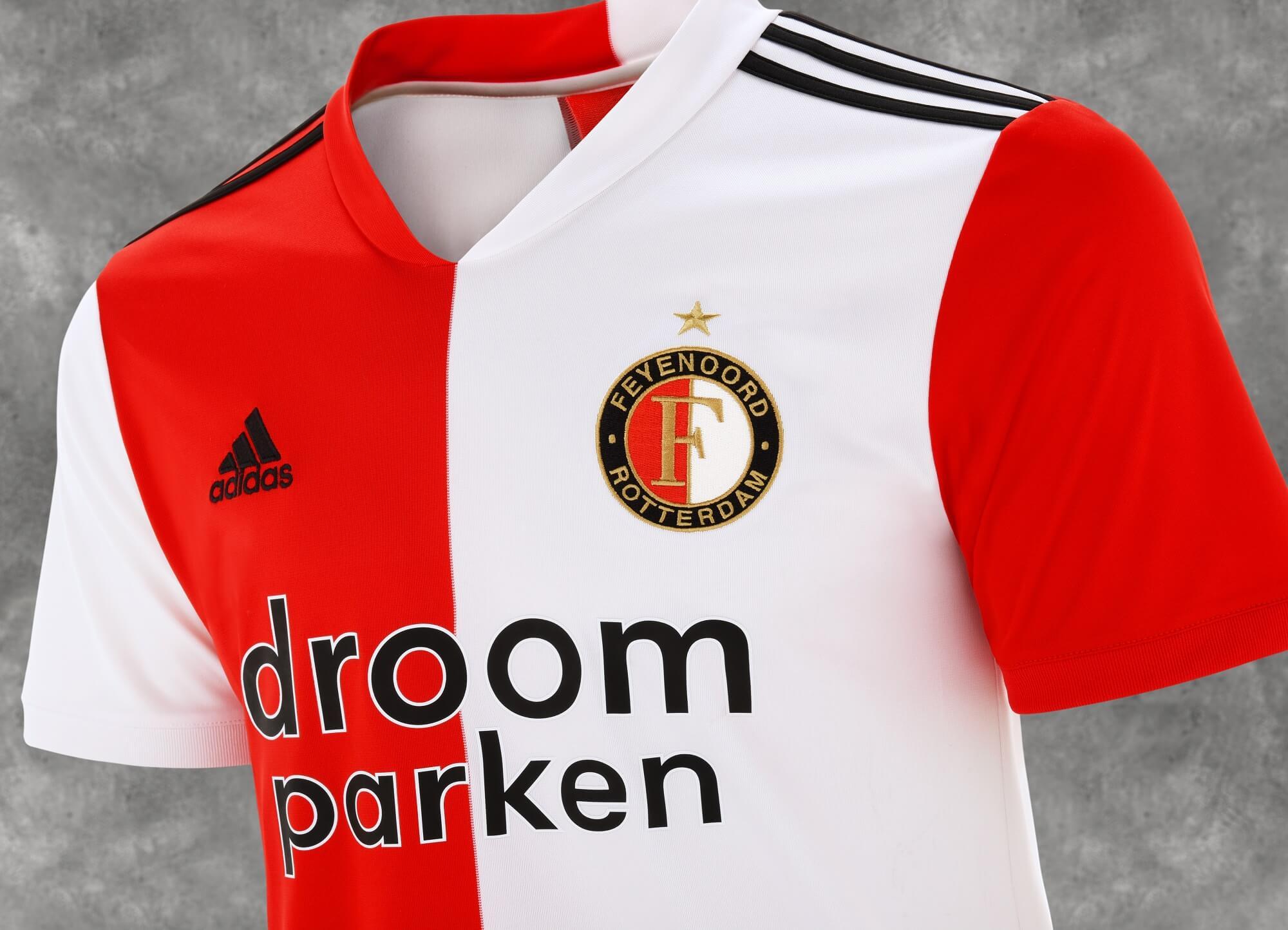 Feyenoord presenteert nieuwe thuisshirt; image source: Feyenoord.nl