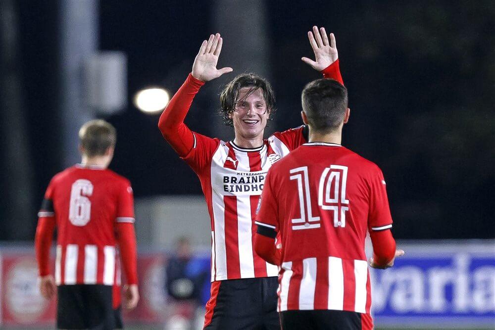 Jong PSV thuis gelijk tegen Jong FC Utrecht; image source: Pro Shots