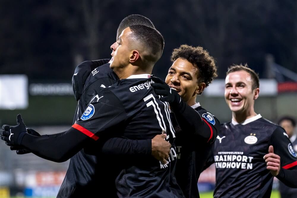 Eenvoudige zege voor PSV in Waalwijk; image source: Pro Shots