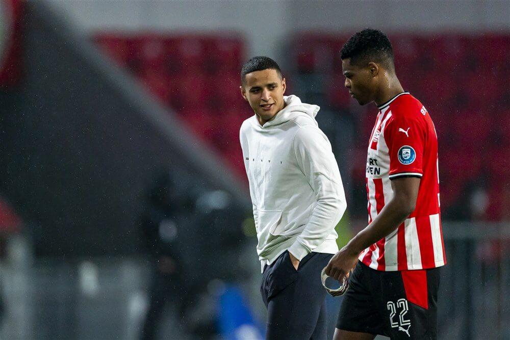 """""""PSV hervat gesprekken met Ihattaren over nieuw contract, geen akkoord met Dumfries""""; image source: Pro Shots"""