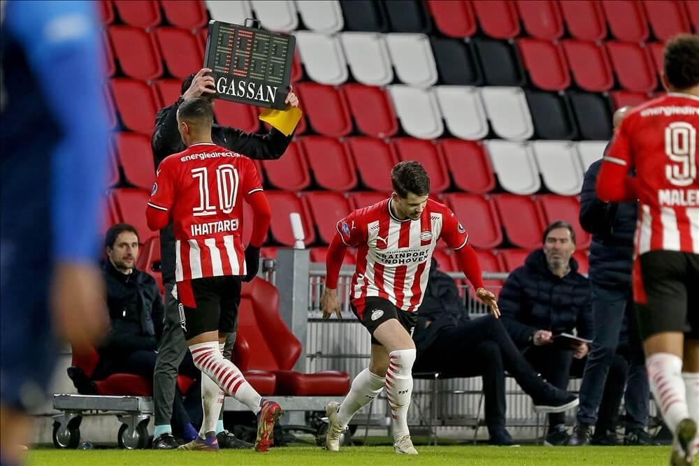 Mohamed Ihattaren maakt geen deel meer uit van teamtraining PSV; image source: Pro Shots