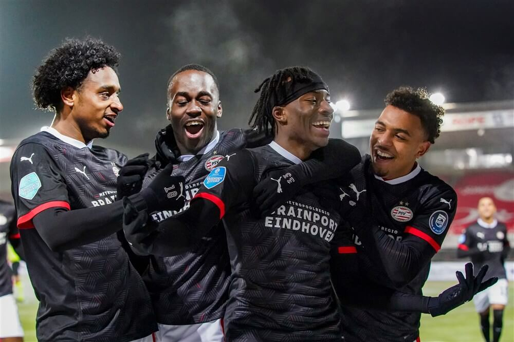 PSV in doelpuntrijk duel te sterk voor Sparta; image source: Pro Shots