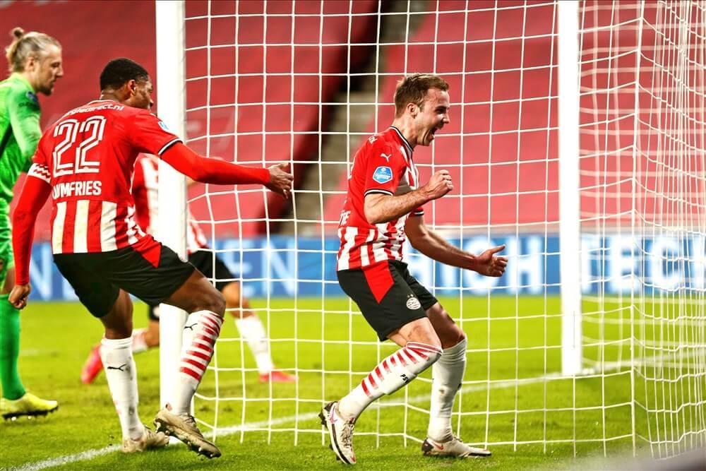 Invallers bezorgen PSV winst tegen Vitesse na uitstekende tweede helft; image source: Pro Shots