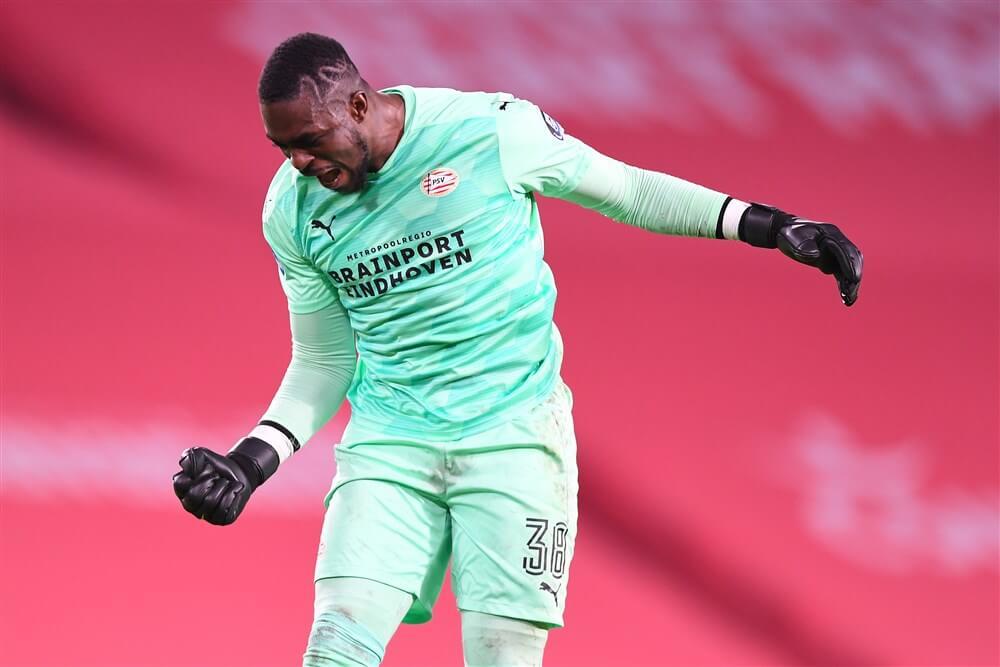 """Yvon Mvogo: """"Ik wil heel graag bij PSV blijven""""; image source: Pro Shots"""
