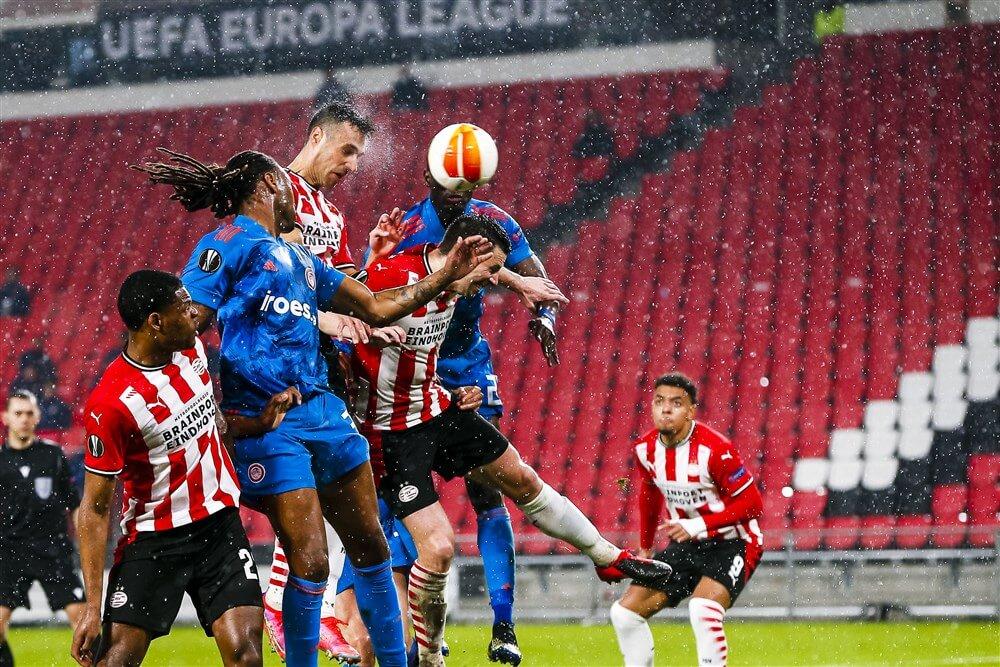 Uitstekende eerste helft tegen Olympiakos net niet genoeg voor de volgende ronde; image source: Pro Shots