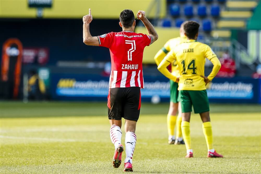 Eran Zahavi in Elftal van de Maand in Eredivisie; image source: Pro Shots