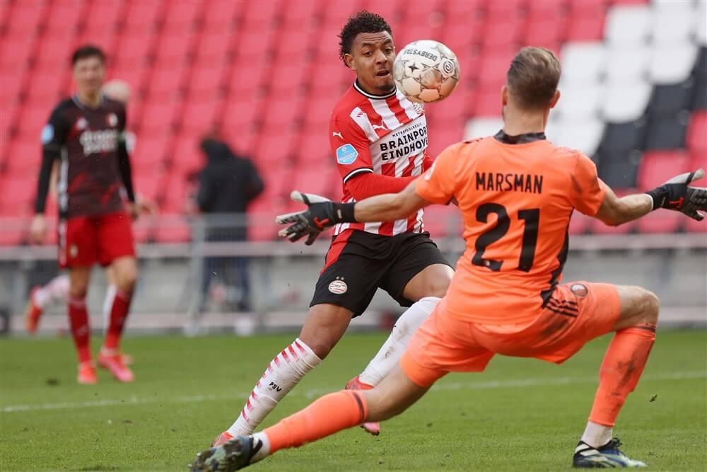 PSV krijgt met gelijkspel veel te weinig in enerverende topper; image source: Pro Shots