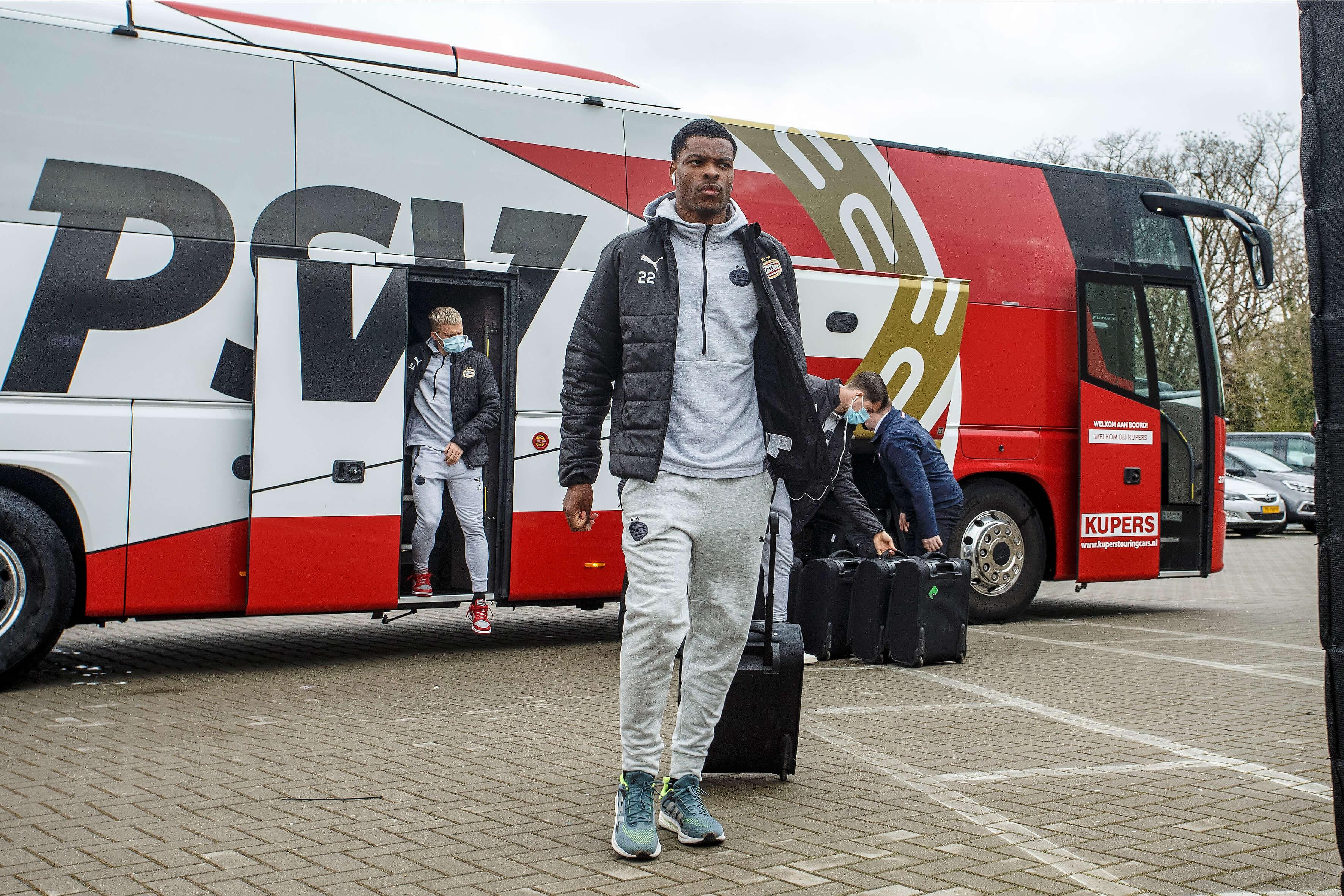 """""""Overleg bij PSV over situatie Denzel Dumfries""""; image source: Pro Shots"""