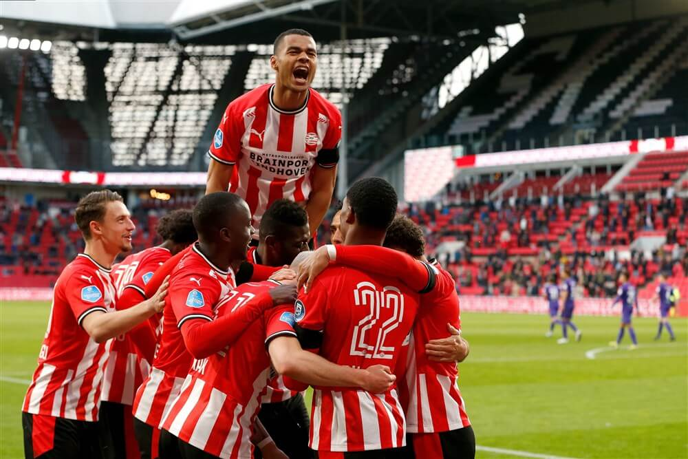 PSV na goede tweede helft te sterk voor FC Groningen; image source: Pro Shots