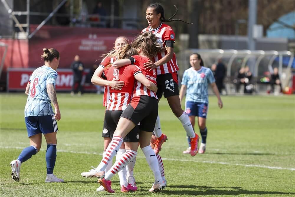 PSV Vrouwen begint met uitstekende zege tegen Ajax aan kampioensgroep; image source: Pro Shots
