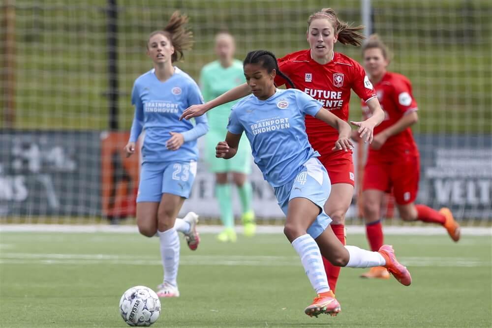 PSV Vrouwen onderuit op bezoek bij FC Twente; image source: Pro Shots