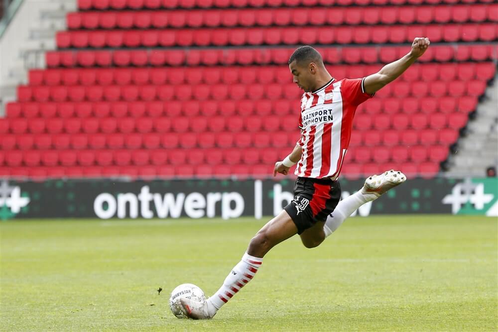 """Cody Gakpo: """"Nog een seizoen bij PSV knallen is wel mijn insteek""""; image source: Pro Shots"""