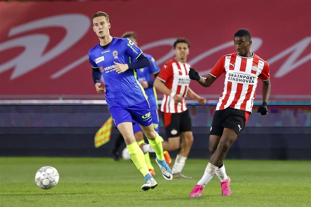 Nog altijd verzwakt Jong PSV speelt gelijk tegen TOP Oss; image source: Pro Shots