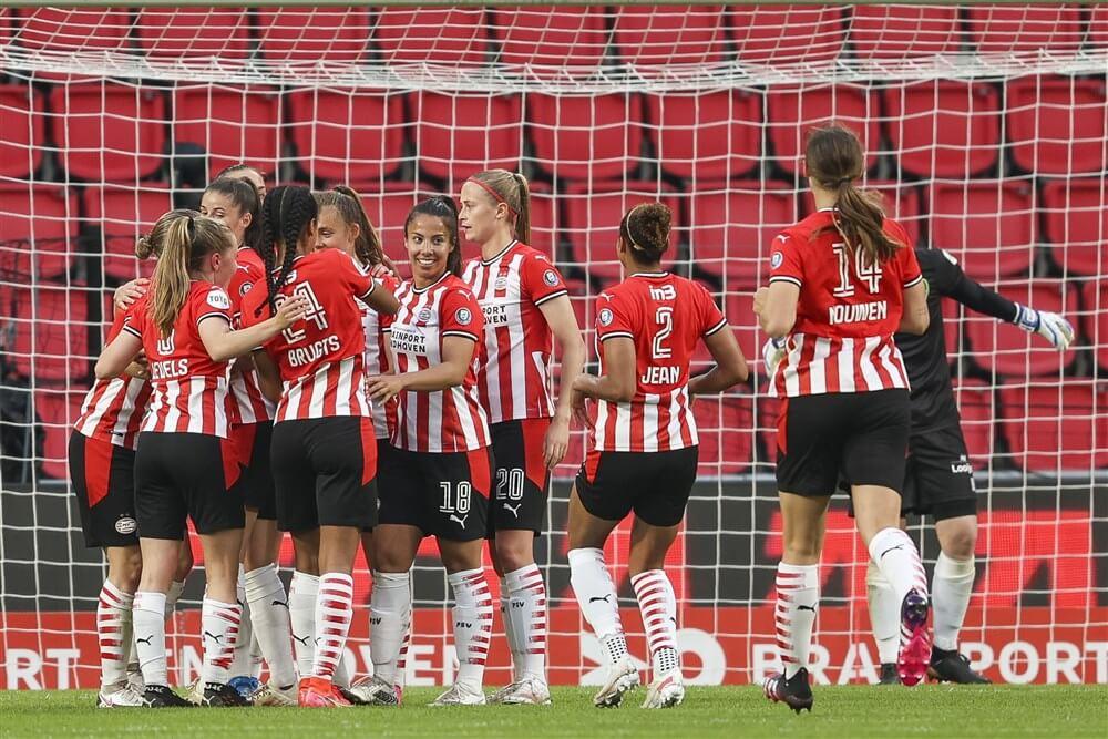 PSV Vrouwen ook dit seizoen in het Philips Stadion; image source: Pro Shots