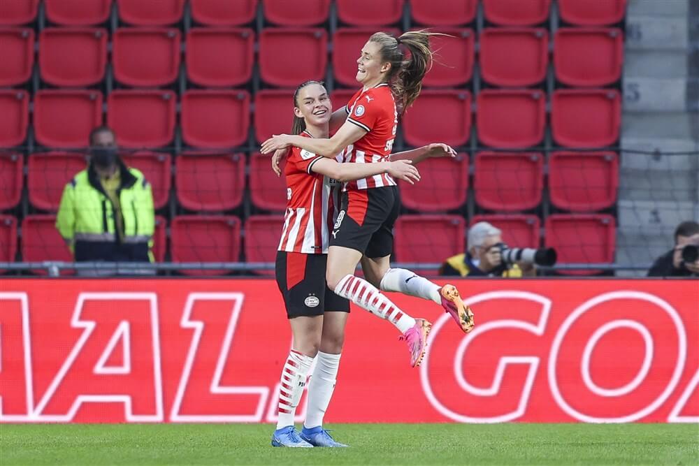 Monsterzege voor PSV Vrouwen in Philips Stadion; image source: Pro Shots