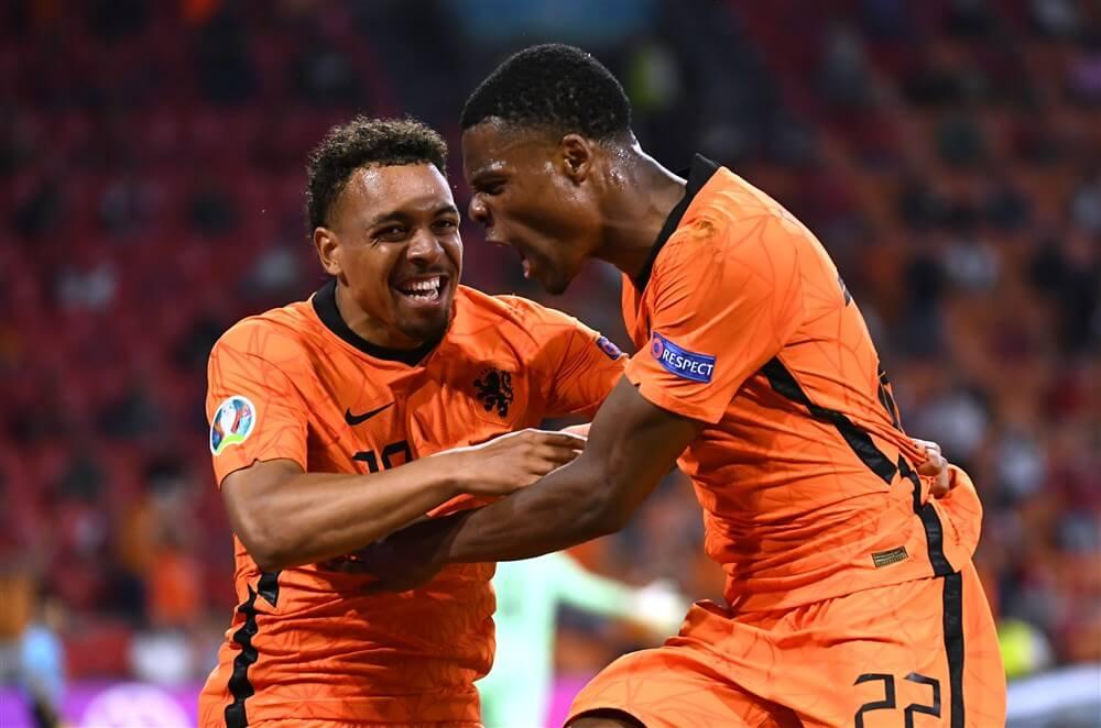Wederom hoofdrol voor Denzel Dumfries bij zege van Nederlands elftal; image source: Pro Shots