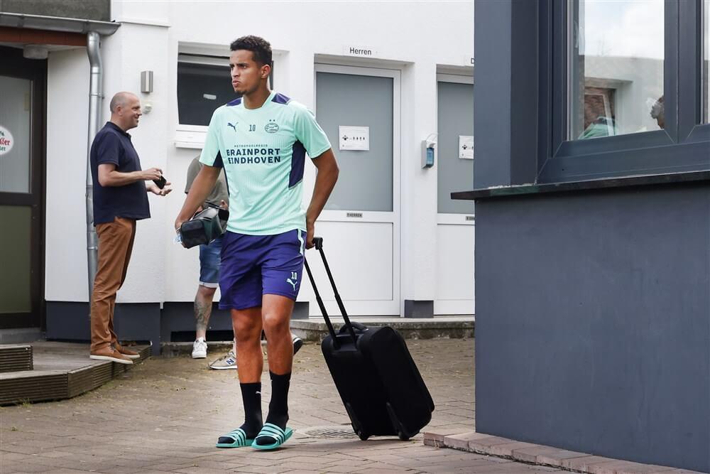 """""""Mohamed Ihattaren weer ziek en ontbreekt op training PSV""""; image source: Pro Shots"""